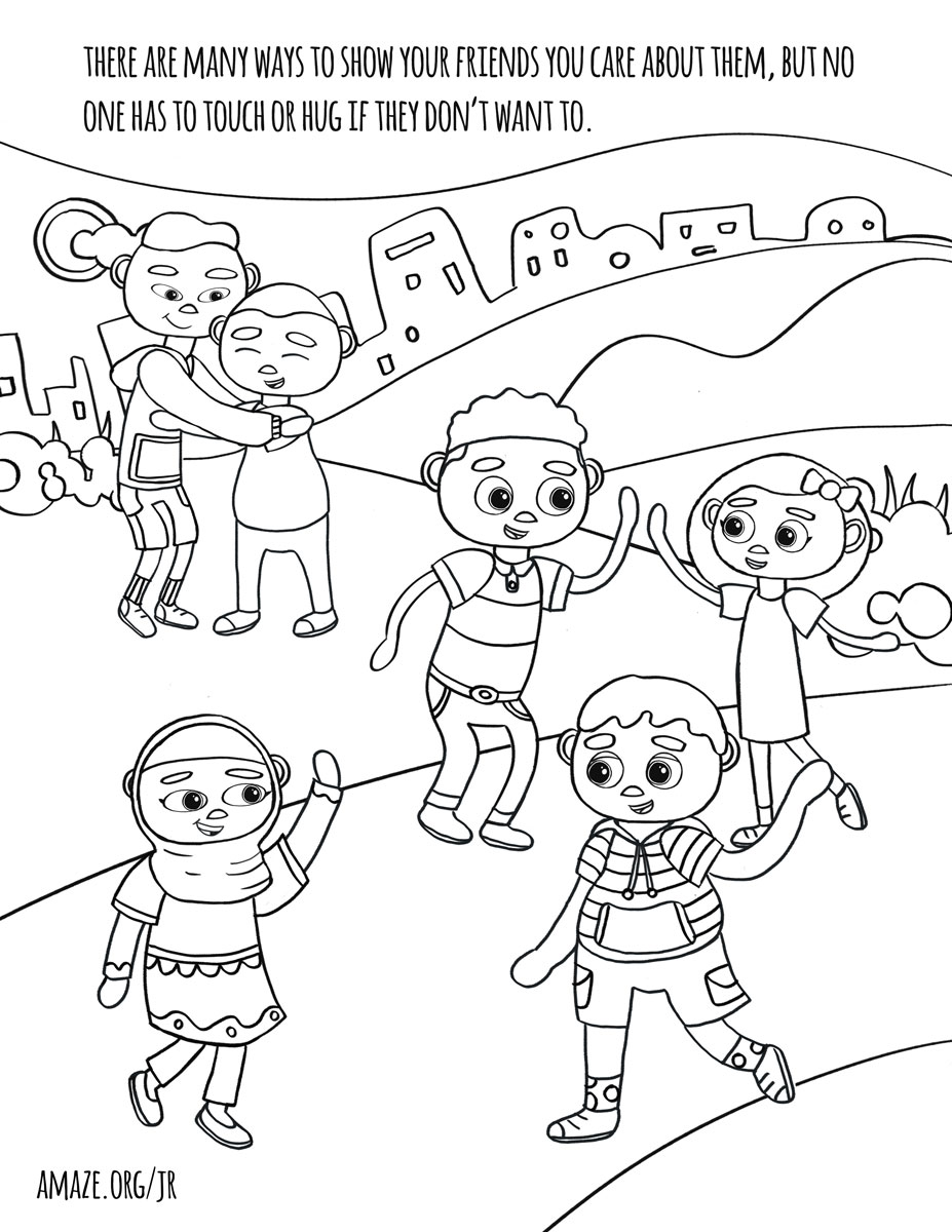 Click on a coloring book page and it will open a new tab that you can right click and download the image one at a time