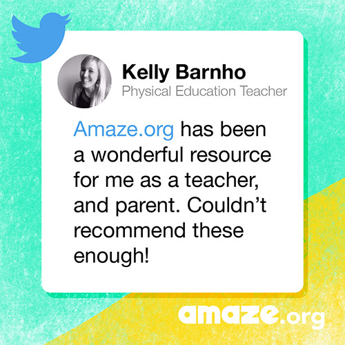Amaze.org has been a wonderful resource for me as a teacher, and parent. Couldn't recommend these enough!