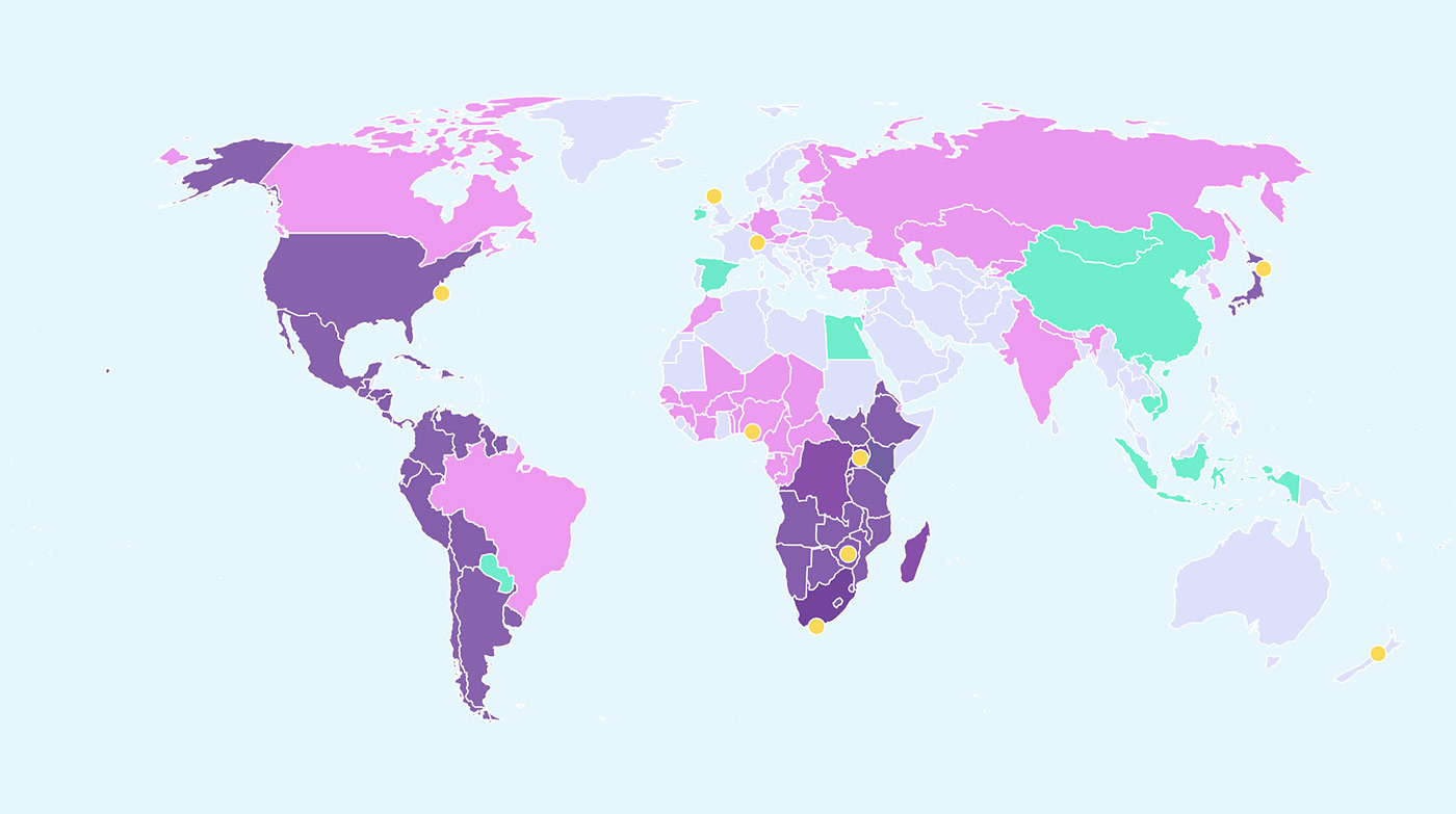 Amaze World Map